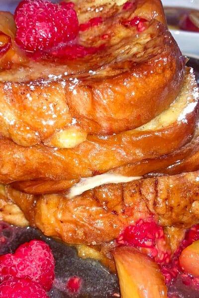 raspberry French toast recipe
