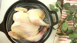butterflied roast chicken