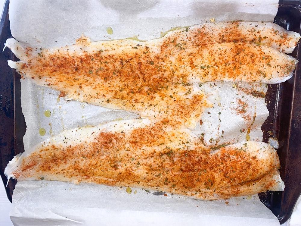 baked cod fish