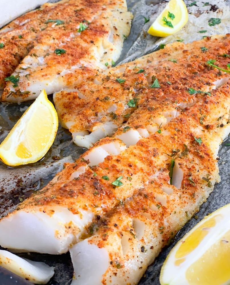 Fresh Cod Fish Recipe