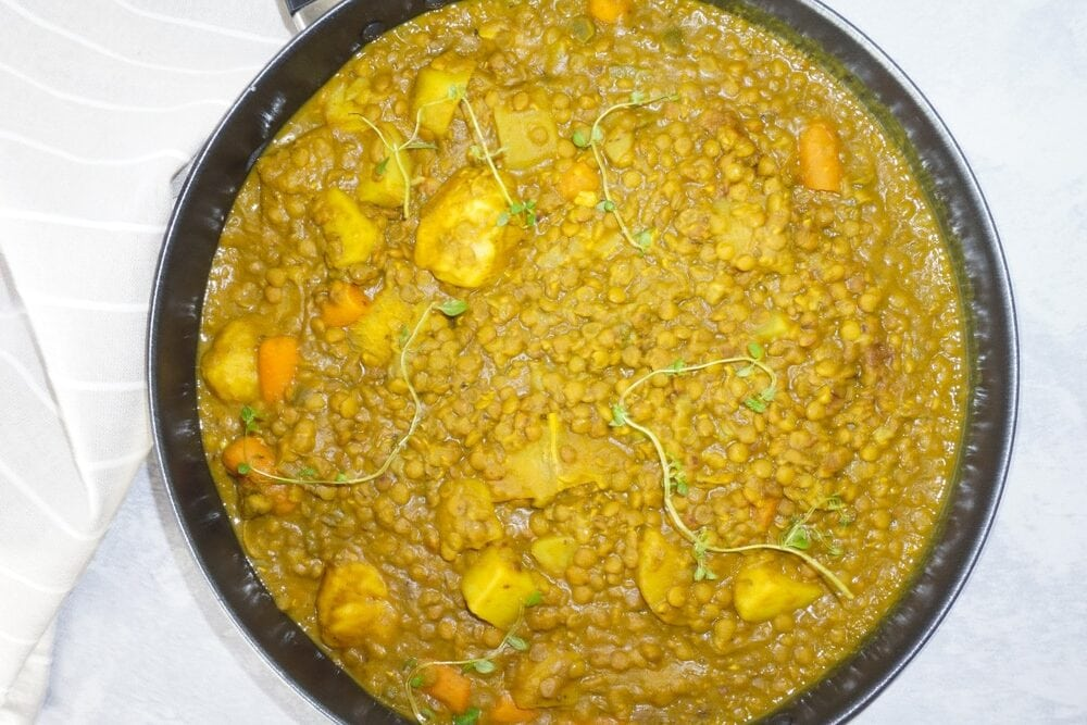 vegetable curry stew
