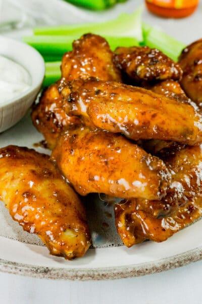 honey buffalo wings recipe