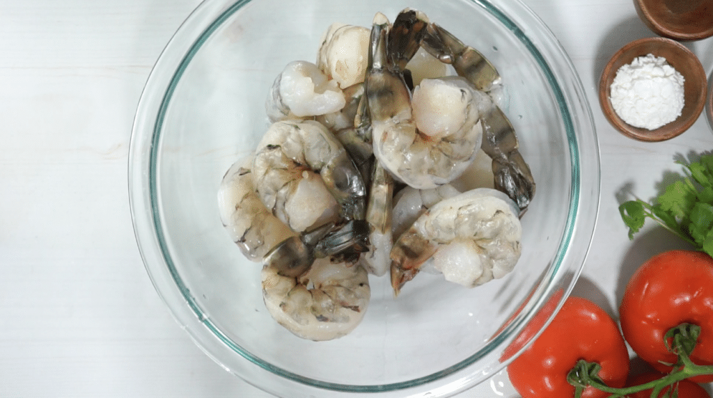 New Orleans fried shrimp