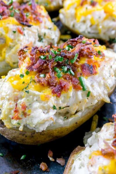 seafood stuffed potatoes